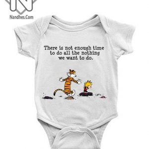 Calvin And Hobbes Quote Baby Onesie