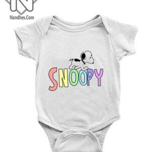Snoopy Fun Baby Onesie