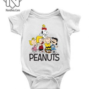 Snoopy Peanut Baby Onesie