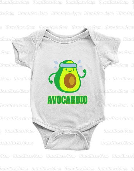 Avocardio-Racerback-Baby-Onesie