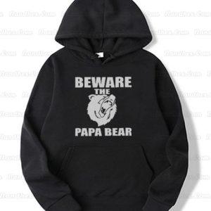 Beware-the-Papa-Bear-Mens-Hoodie