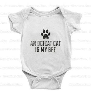 Cute-Ocicat-Cat-Breed-Baby-Onesie