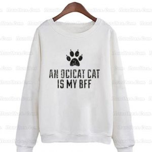 Cute-Ocicat-Cat-Breed-Sweatshirts