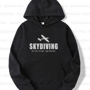 Skydiving-mind-over-splatter-Hoodie