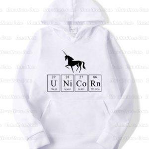 Unicorn-Hoodie