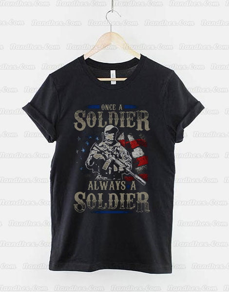 Once-A-Soldier-Always-A-Sodier-T-Shirt