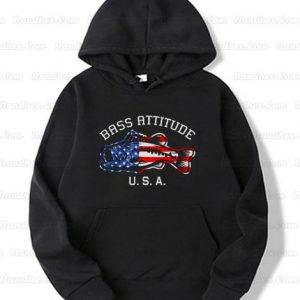 Bass Attitude USA Logo Hoodie