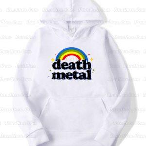 Death Metal Rainbow Hoodie