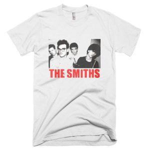 Retro The Smiths Punk Rock T Shirt