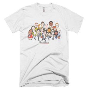 The Office Cast Cartoon T Shirt
