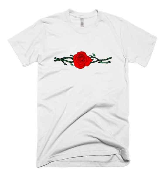 Twigs-Rose-T-Shirt