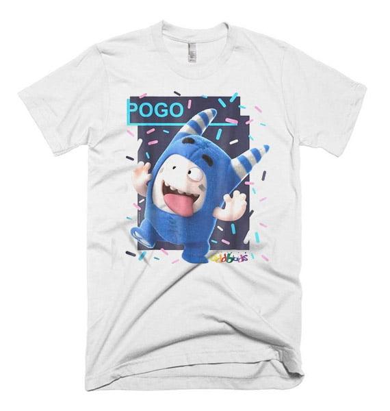 32f6ab5b1 Oddbods Pogo Fooling Face T Shirt