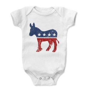 Democrat Donkey Baby Onesie