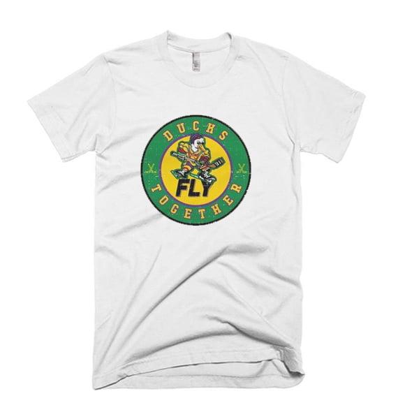 Mighty Ducks Ducks Fly Together Tshirt
