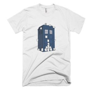 The Adipose Have the Phone Box T Shirt