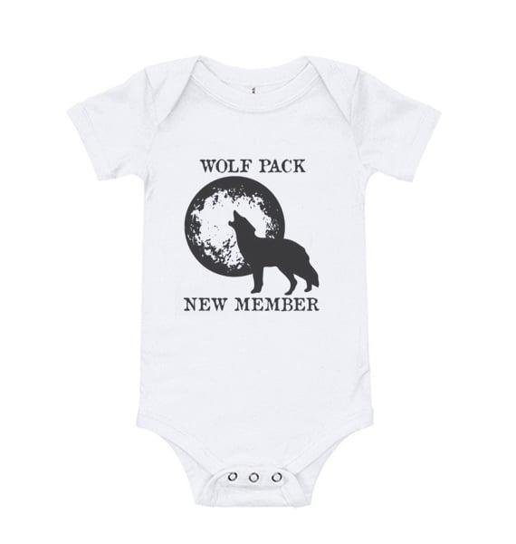 Wolf Pack Baby Onesie