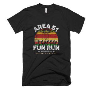 Area 51 Fun Run T Shirt