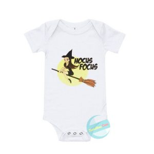 Ariana Grande Hocus Focus Baby Onesie