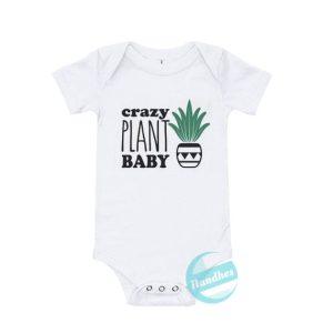 Crazy Plant Baby Onesie