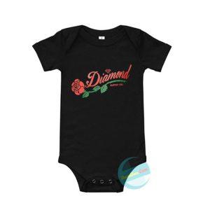 Diamond Rose Supply Co Baby Onesie