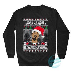 Snoop Dog Ugly Christmas Sweatshirt