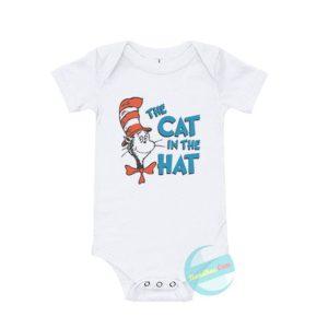 The Cat In The Hat Baby Onesie