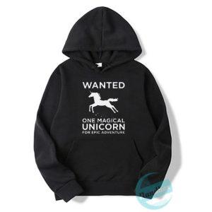Unicorn Wanted Hoodie