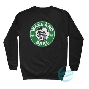 Wake And Bake Coffee Sweatshirt