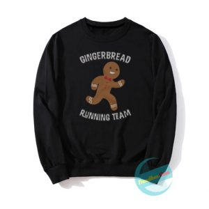 Gingerbread Running Team Sweatshirts