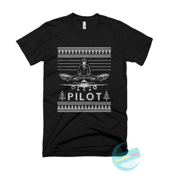 Pilot Christmas T Shirt