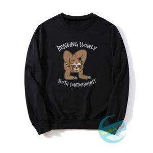 Sloth Contortionis Sweatshirts