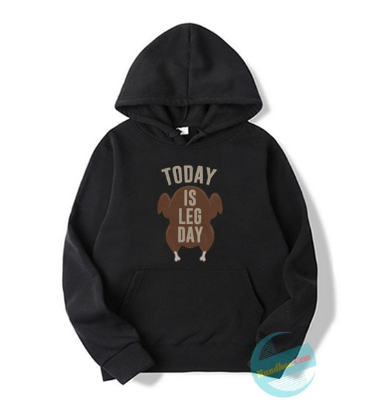 Today is Leg Day Christmas Hoodie