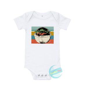 Baby Yoda Baby Onesie