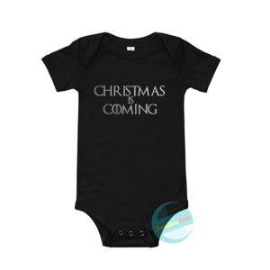 Christmas is coming Baby Onesie