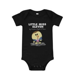 Stranger Things Little Miss Eleven Baby Onesie