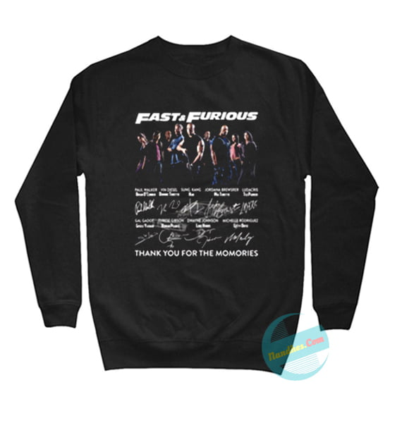 The Memories Awesome Gift for F&F Sweatshirts