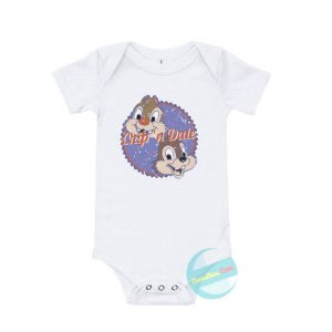 Chip and Dale Baby Onesie