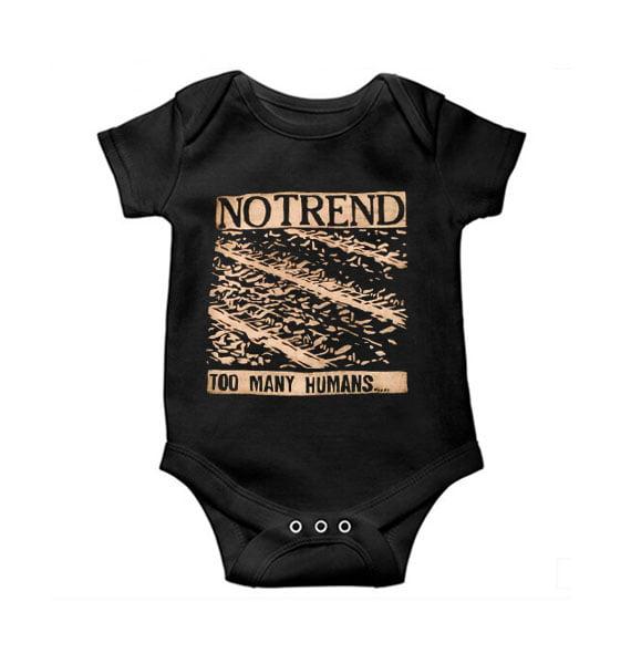 No Trend Baby Onesie