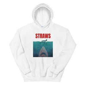 Straws Jaws Turtle Hoodie