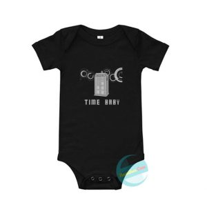 Tim Doctor Who Baby Onesie