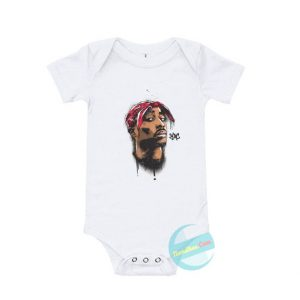 Tupac Baby Onesie