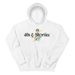 40s & Shorties Angel Logo Hoodie
