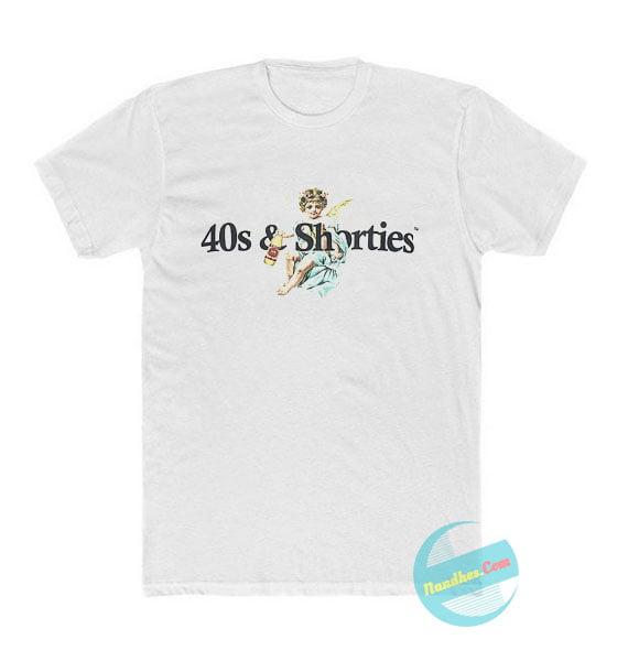 40s & Shorties Angel Logo T Shirt