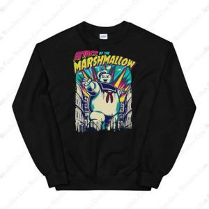 Attack Of The Marshmallow Sweatshirt