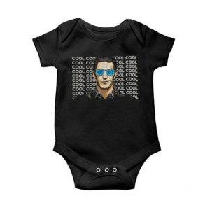 Brooklyn 99 Jake Peralta Noice Toit Cool Baby Onesie