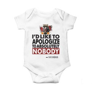 Conor Mcgregor Apologize Ufc Mma Notorious Baby Onesie