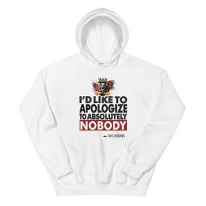 Conor Mcgregor Apologize Ufc Mma Notorious Hoodie