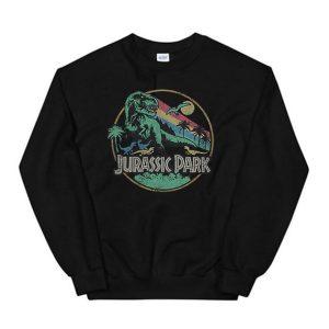 Jurassic Park Rainbow Sweatshirt
