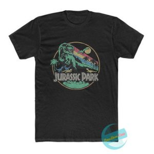 Jurassic Park Rainbow T Shirt