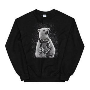 Polar Bear Graphic Sweatshirt